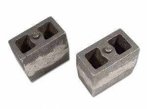 """5.5"""" Cast Iron Lift Blocks (3"""" wide, tapered) pair by Tuff Country - 79056"""