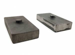 "Suspension Parts - Lift Blocks - Tuff Country - 2013-2018 Dodge Ram 3500 4wd - 1"" Cast Iron Lift Blocks (pair) by Tuff Country - 79067"