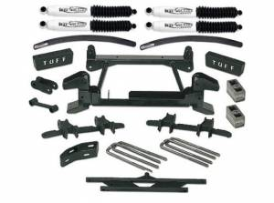 """1992-1998 Chevy Suburban 2500 (8lug) 4x4 - 6"""" Lift Kit by (fits models with cast lower control arms) Tuff Country - 16853"""
