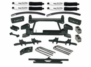 """1992-1998 Chevy Suburban 2500 (8lug) 4x4 - 6"""" Lift Kit by (fits models with stamped lower control arms) Tuff Country - 16854"""