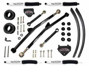 """1994-1999 Dodge Ram 1500 4x4 - 3"""" Long Arm Lift Kit (with SX8000 Shocks) by (fits vehicles built March 31 1999 and earlier) Tuff Country - 33915KN"""