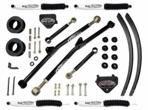 """1994-1999 Dodge Ram 2500 4x4 - 3"""" Long Arm Lift Kit with SX8000 shocks by (fit Vehicles Built March 31 1999 and Earlier) Tuff Country - 33925KN"""