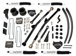 """1994-1999 Dodge Ram 2500 4x4 - 4.5"""" Long Arm Lift Kit with SX8000 Shocks by (fit Vehicles Built March 31 1999 and Earlier) Tuff Country - 35925KN"""