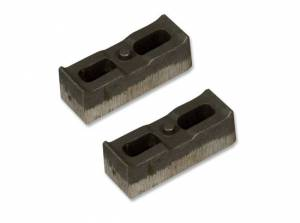 "Suspension Parts - Lift Blocks - Tuff Country - 2007-2018 Chevy Silverado 1500 4wd - 3"" Cast Iron Lift Blocks (pair) by Tuff Country - 79005"