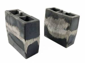 "Suspension Parts - Lift Blocks - Tuff Country - 1994-2001 Dodge Ram 1500 4wd - 5.5"" Cast Iron Lift Blocks (pair) by Tuff Country - 79058"