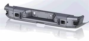 Hammerhead Bumpers - Hammerhead600-56-1006Flush Mount Rear Bumper with Sensors Chevy Silverado 2500HD/3500 2020-2021 and GMC Sierra 2500HD/3500 2020-2021