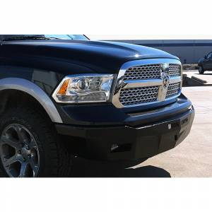 Iron Cross - Iron Cross 30-615-09 RS Series Front Bumper for Dodge Ram 1500 2009-2012 - Gloss Black - Image 2