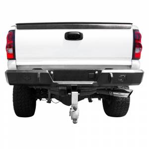 Iron Cross - Iron Cross 21-515-88 Rear Bumper for GMC Sierra 1500/2500/3500 1988-1998 - Gloss Black - Image 2