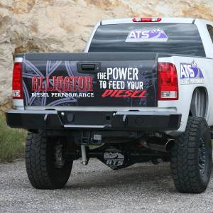 Iron Cross - Iron Cross 21-515-88 Rear Bumper for GMC Sierra 1500/2500/3500 1988-1998 - Gloss Black - Image 3