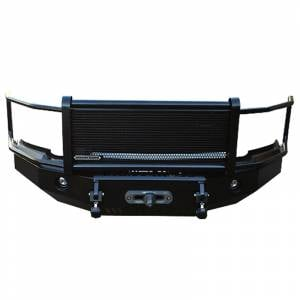 Iron Cross - Iron Cross 24-925-16-MB Winch Front Bumper with Grille Guard for Nissan Titan XD 2016-2019 - Matte Black - Image 1