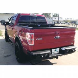 Ford Raptor - Ford Raptor 2010-2014 - Hammerhead Bumpers - Hammerhead 600-56-0180 Rear Bumper with Sensor Holes for Ford F150 EcoBoost 2006-2014