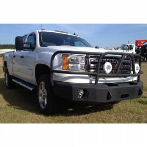 Hammerhead Bumpers - Hammerhead 600-56-0105 X-Series Winch Front Bumper with Full Brush Guard and Square Light Holes for GMC Sierra 2500/3500 2011-2014 - Image 3
