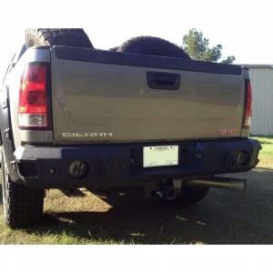 Hammerhead Bumpers - Hammerhead 600-56-0178 Rear Bumper with Sensor Holes for GMC Sierra 2500/3500 2011-2014