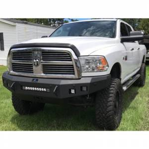 Hammerhead Bumpers - Hammerhead 600-56-0428 Low Profile Front Bumper with Square Light Holes for Dodge Ram 2500/3500/4500/5500 2010-2018 - Image 2