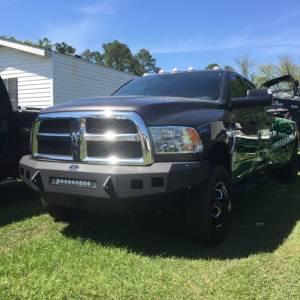 Hammerhead Bumpers - Hammerhead 600-56-0428 Low Profile Front Bumper with Square Light Holes for Dodge Ram 2500/3500/4500/5500 2010-2018 - Image 3