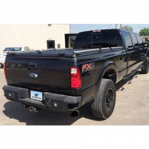 Truck Bumpers - Hammerhead - Hammerhead Bumpers - Hammerhead 600-56-0476 Flush Mount Rear Bumper with Sensor Holes for Ford F250/F350/F450 1999-2016