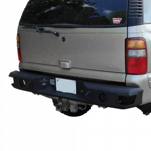 Hammerhead Bumpers - Hammerhead 600-56-0202S Rear Bumper without Sensor Holes and Round Reverse Light for Chevy Suburban 2000-2006 - Image 2