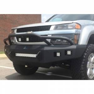 Hammerhead Bumpers - Hammerhead 600-56-0678 Low Profile Fleet Front Bumper with Pre-Runner Guard and Square Light Holes for Chevy Colorado 2003-2012 - Image 3