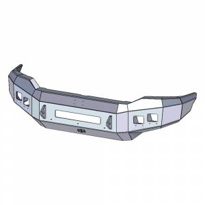 Hammerhead Bumpers - Hammerhead 600-56-0590 Low Profile Front Bumper with Pre-Runner Guard for Toyota Tundra 2007-2013