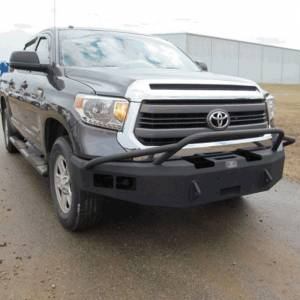 Toyota Tundra - Toyota Tundra 2014-2020 - Hammerhead Bumpers - Hammerhead 600-56-0252 Winch Front Bumper with Pre-Runner Guard and Sensor Holes for Toyota Tundra 2014-2020