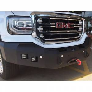 Hammerhead Bumpers - Hammerhead 600-56-0357 Winch Front Bumper with Square Light Holes for GMC Sierra 2500/3500 2011-2014 - Image 2