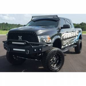 Hammerhead Bumpers - Hammerhead 600-56-0394 Low Profile Non-Winch Front Bumper with Pre-Runner Guard for Dodge Ram 2500/3500/4500/5500 2010-2018 - Image 2