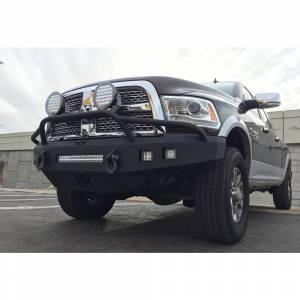 Hammerhead Bumpers - Hammerhead 600-56-0394 Low Profile Non-Winch Front Bumper with Pre-Runner Guard for Dodge Ram 2500/3500/4500/5500 2010-2018 - Image 4