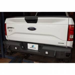 Truck Bumpers - Hammerhead - Hammerhead Bumpers - Hammerhead 600-56-0480 Flush Mount Rear Bumper with Sensor Holes for Ford F150 EcoBoost 2015-2020