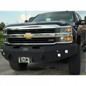 Hammerhead 600-56-0585 Winch Front bumper with Sensor Holes and Square Light Holes for Toyota Tundra 2014-2020