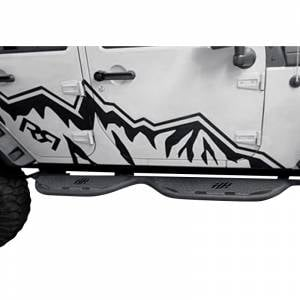 Hammerhead Bumpers - Hammerhead 600-56-0384 Cab Length Running Board for Dodge Ram 1500/2500/3500 Quad Cab 2002-2009 - Image 2