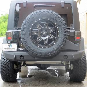 Jeep Bumpers - Hammerhead - Hammerhead Bumpers - Hammerhead 600-56-0235 Spare Tire Carrier for Jeep Wrangler JK 2007-2017