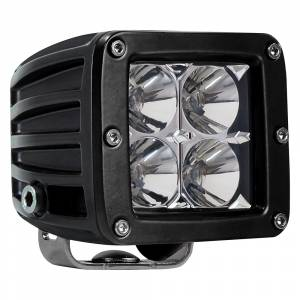 Lighting - Hammerhead Bumpers - Hammerhead 307-13-0445 Zilla Spot Beam LED Cube Light Pair with Wiring Harness