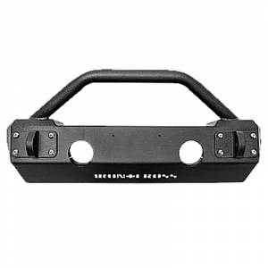 Jeep Bumpers - Iron Cross - Iron Cross - Iron Cross GP-1200 Stubby Front Bumper with Bar for Jeep Wrangler JK 2007-2018