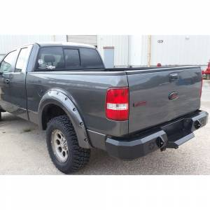 Iron Cross - Iron Cross 21-415-92-MB Rear Bumper for Ford F250/F350 1992-1998 - Matte Black - Image 3