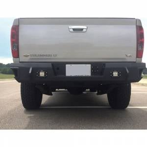 Shop Bumpers By Vehicle - Chevy Colorado - Hammerhead Bumpers - Hammerhead 600-56-0682 Flush Mount Rear Bumper for Chevy Colorado 2003-2012