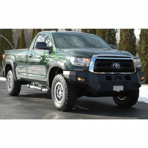 Fab Fours - Fab Fours TT07-H1851-1 Winch Front Bumper for Toyota Tundra 2007-2013