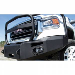 Fab Fours - Fab Fours GS14-H3150-1 Winch Front Bumper with Full Guard for GMC Sierra 1500 2014-2015 - Image 1