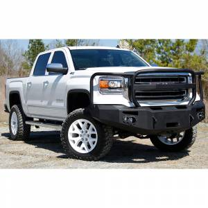 Fab Fours - Fab Fours GS14-H3150-1 Winch Front Bumper with Full Guard for GMC Sierra 1500 2014-2015 - Image 2