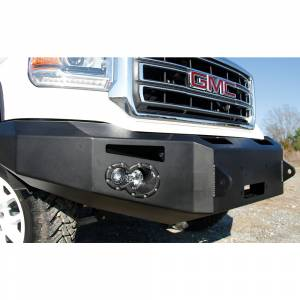 Fab Fours - Fab Fours GS14-H3151-1 Winch Front Bumper for GMC Sierra 1500 2014-2015 - Image 1