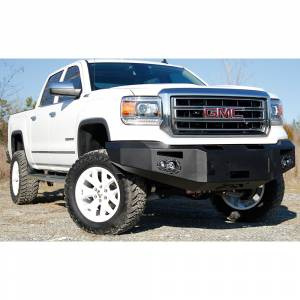 Fab Fours - Fab Fours GS14-H3151-1 Winch Front Bumper for GMC Sierra 1500 2014-2015 - Image 2