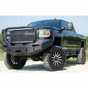 Fab Fours - Fab Fours GM14-A3150-1 Winch Front Bumper with Full Guard for GMC Sierra 2500/3500 2015-2019 - Image 2