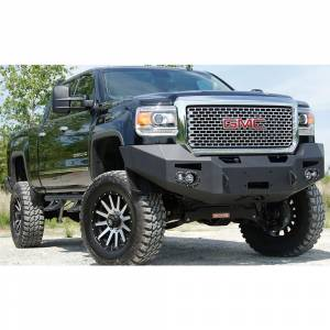 Fab Fours - Fab Fours GM14-A3151-1 Winch Front Bumper for GMC Sierra 2500/3500 2015-2019 - Image 3