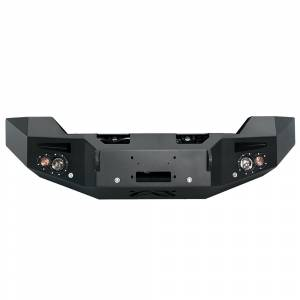 Fab Fours - Fab Fours GM14-C3151-1 Winch Front Bumper with Sensor Holes for GMC Sierra 2500/3500 2015-2019 - Image 1