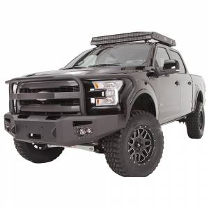 Fab Fours - Fab Fours FF15-H3250-1 Winch Front Bumper with Full Guard for Ford F150 2015-2017 - Image 2