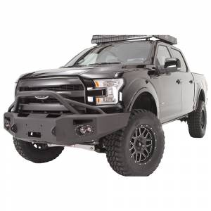 Fab Fours - Fab Fours FF15-H3252-1 Winch Front Bumper with Pre-Runner Guard for Ford F150 2015-2017 - Image 2