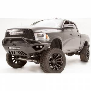 Fab Fours - Fab Fours DR10-V2952-1 Vengeance Front Bumper with Pre-Runner Guard and Sensor Holes for Dodge Ram 2500/3500/4500/5500 2010-2018 - Image 3