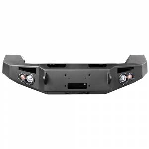 Fab Fours - Fab Fours DR13-H2951-1 Winch Front Bumper for Dodge Ram 1500 2013-2018