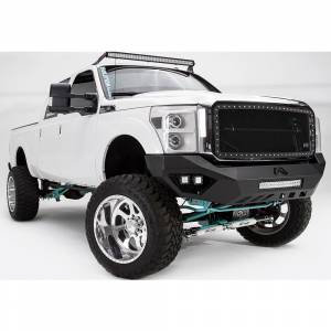 Fab Fours - Fab Fours FS11-V2551-1 Vengeance Front Bumper with Sensor Holes for Ford F250/F350 2011-2016 - Image 2