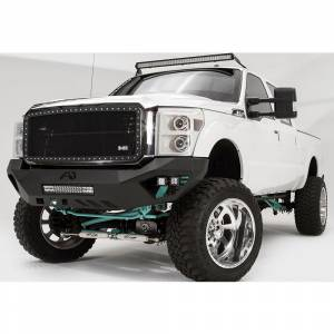 Fab Fours - Fab Fours FS11-V2551-1 Vengeance Front Bumper with Sensor Holes for Ford F250/F350 2011-2016 - Image 3