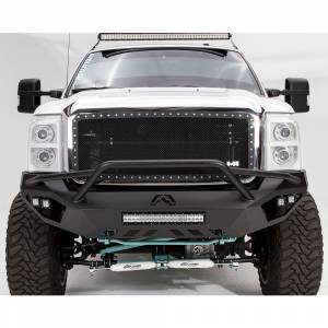 Fab Fours - Fab Fours FS11-V2552-1 Vengeance Front Bumper with Pre-Runner Guard and Sensor Holes for Ford F250/F350 2011-2016 - Image 1